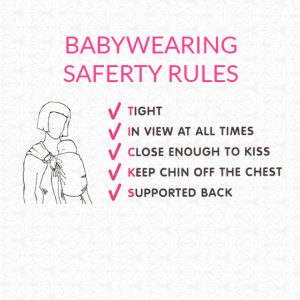 koala-and-mama-malta-babywearing-consultant-sling-library ticks rules for safe babywearing