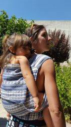 Koala and Mama Malta Babywearing Consultancy Ting Garden Broderie soft structured carrier (SSC)