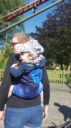 Koala and Mama Malta Babywearing Consultancy soft structured carrier toddler wearing